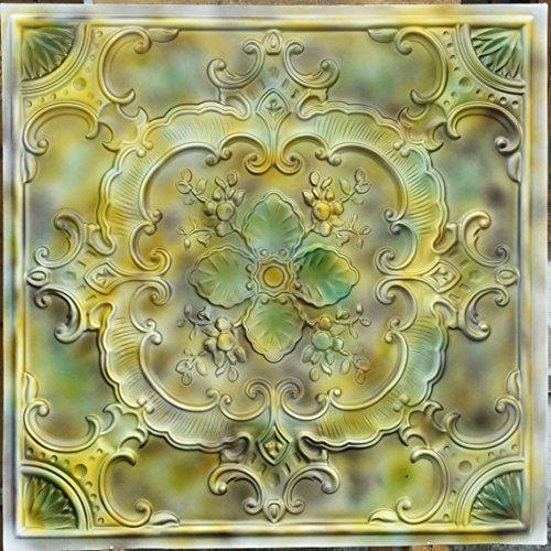 pl19imitation peinture Mix Media Art 3D Dalles de plafond Panneaux muraux décoration gaufrage fond photosgraphie 10pieces/Lot