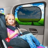 "Enovoe Baby Car Window Sun Shade - (2 Pack) - 19"" x 12"""