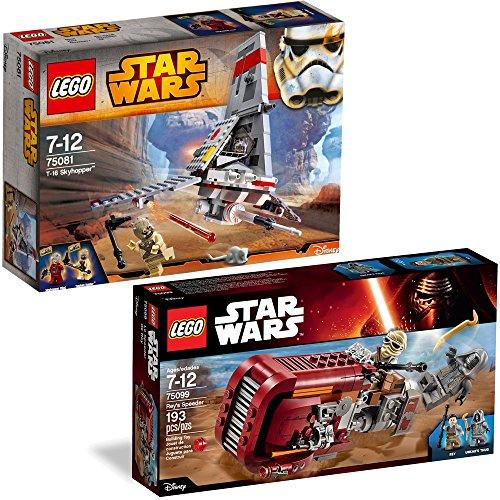 Lego Star Wars 2er Set 75081 75099 T 16 Skyhopper Reys Speeder