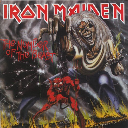 The-Number-Of-The-Beast-VINYL-Iron-Maiden-Vinyl