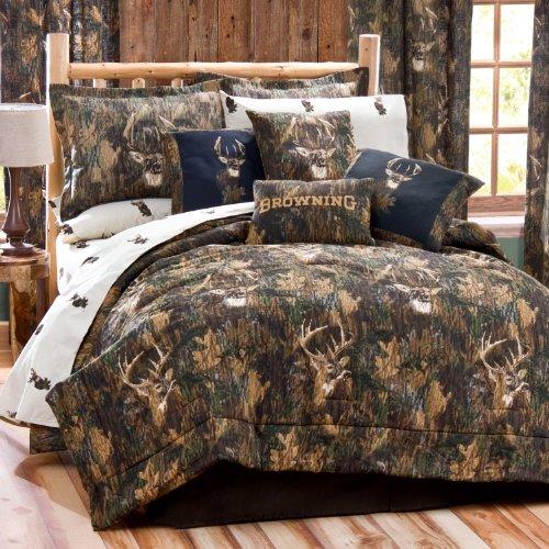 Camo Comforter Set Full