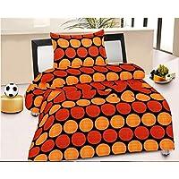 Renown Polka Dots Print Reversible Single Bed AC Blanket / Dohar