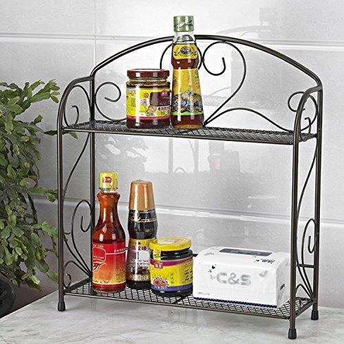 Countertop Spice Organizer : (TM) Spice Rack Kitchen Countertop Spice Stand Holder Jars Storage ...