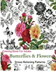 Coloring Books for Adults: Butterflie...