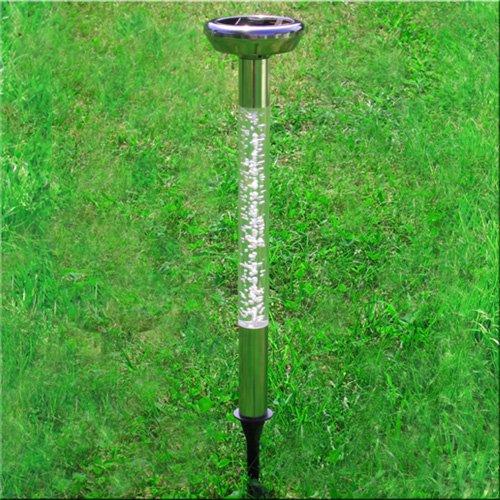 Solarleuchte 'COLOR BUBBLE' mit Lichtsensor - Verzaubern Sie Ihren Garten oder Gehweg mit farbigen Lichtakzenten!