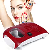Warm Cool Air Blower Nail Polish Dryer, Automatic Sensor Fan Blow Manicure Machine for Drying Nail Gel Polish