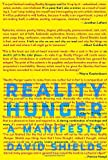 Image of Reality Hunger: A Manifesto