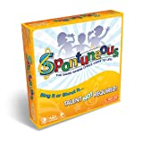 Spontuneous - The Song Game - Sing It or Shout It - Talent NOT Required (Best Family / Party Board Games for Kids, Teens, Adults - Boy & Girls Ages 8 & Up),Yellow (Color: Yellow)