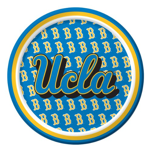Creative Converting UCLA Bruins Dessert Paper Plates (8 Count) - 1