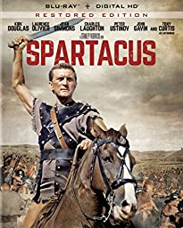 Spartacus - Restored Edition (Blu-ray + DIGITAL HD)