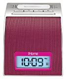 iHome iH11 Alarm Clock with Dock for iPod (Pink)