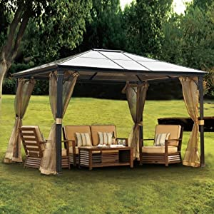 garden patio furniture accessories umbrellas canopies shade gazebos