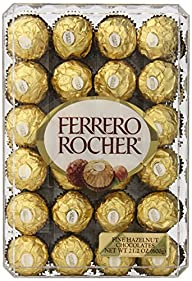 Ferrero Rocher, Hazlenut, 48 Count, 2…
