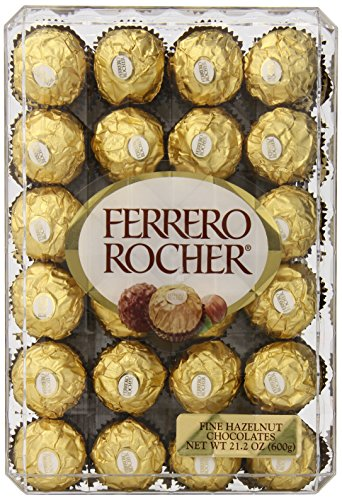 Ferrero Rocher, Hazlenut, 48 Count, 21.2oz