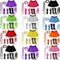 A-Express� Neon Tutu Skirt Legwarmer Gummies Beads Hen Fancy Dress Party Costumes Set