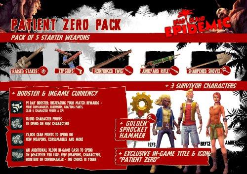 Dead Island Epidemic: Patient Zero Pack [Online Game Code]