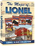 The Magic Of Lionel, 4-DVD Boxed Set