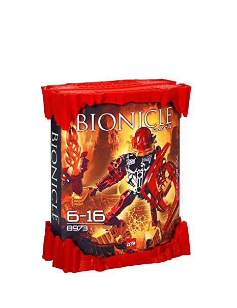 LEGO - 8973 - Jeu de construction - Bionicle - Raanu