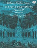 Piano Concertos Nos. 23-27 in Full Score (Dover Music Scores) (0486236005) by Wolfgang Amadeus Mozart