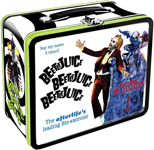 Aquarius Beetlejuice Large Tin Fun Box - 1