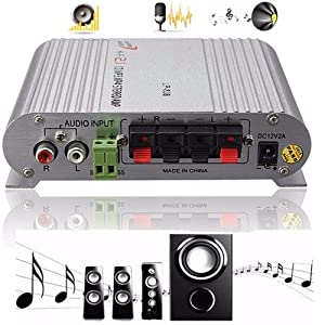 Benficial,Automobiles & Motorcycles Car Multimedia Player HiFi Cd Mp3 Radio Car Home Audio Stereo Bass Speaker Amplifier Booster 12V 200W