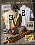 2012 New York Yankees Official Yearbook