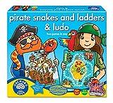 Orchard Toys - Juego de mesa de serpientes, escaleras y Ludo (en ingl�s)