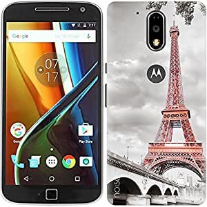 Designer Printed Case / Cover for Moto G4 Plus, 4th Gen / G4 (4th Generation) / Vintage / TOWER BRIDGE (Multicolor) - By Noise (GD-156)