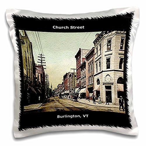 3drose church street burlington vt vintage 1907 pillow for Garden supply burlington vermont