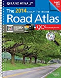 Rand McNally 2014 Midsize Deluxe Easy to Read Road Atlas (Rand McNally Easy to Read!) (Rand Mcnally Road Atlas Midsize Easy to Read)