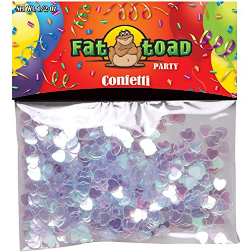 Axiom International Confetti, Pearlized Hearts, 0.5-Ounce, 1-Pack - 1