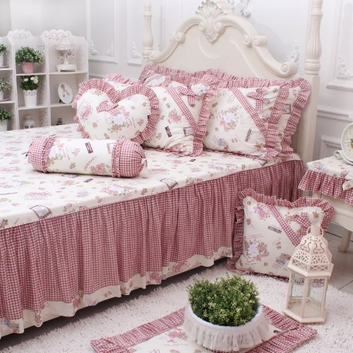 Pink Gingham Bedding
