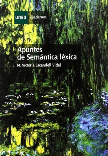 APUNTES DE SEMANTICA LEXICA descarga pdf epub mobi fb2