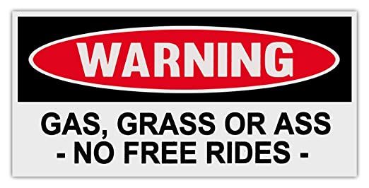 Bumper Stickers For Cars Funny Funny Warning Bumper Stickers