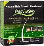 Bravo Biocare Natural Hair Growth Treatment. Mens Presentation. Advanced Formula for Hair Regrowth. 3 Spray Bottles of 60ml Each. (Stops Hair Loss, Stimulates New Hair Growth. Baldness Treatment)