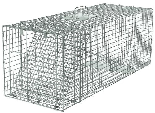 Havahart 1081 Live Animal Professional Style One-Door Large Raccoon, Small Dogs, And Fox Cage Trap front-93343