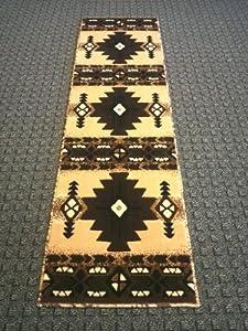 southwest native american runner area rug berber design c318 2ftx7ft. Black Bedroom Furniture Sets. Home Design Ideas