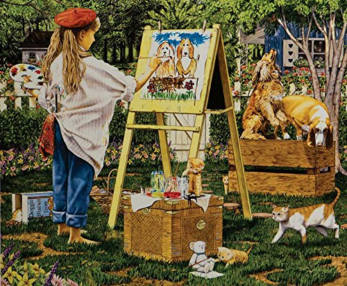 SunsOut The Little Artist Jigsaw Puzzle (1000-Piece)