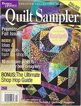 Quilt Sampler Magazine Fall Winter 2004 Premier Fall Issue