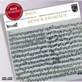 Partita for Violin Solo No.3 in E, BWV 1006 - 6. Gigue