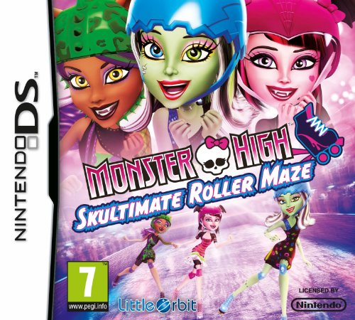 Monster High: Skultimate Roller Maze (Nintendo DS)