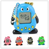 TENTOP 2 Pcs Electronic Digital Pet Machine Game,168 Virtual Pets Feed In One Penguin Machin