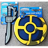 Skylanders Spyros Adventure Chop Chop Foam Bam Shield And Sword