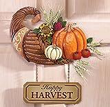 Happy Harvest Cornucopia Wall Art Decor