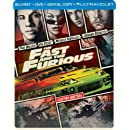 The Fast and the Furious (Steelbook) (Blu-ray + DVD + DIGITAL with UltraViolet)