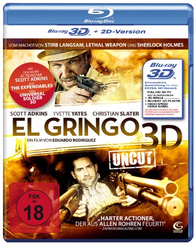 El Gringo 3D (Uncut) (+ 2D-Version) [Blu-ray 3D]
