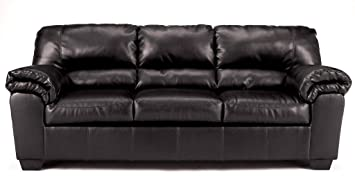 "Famous Collection -Black Sofa by ""Famous Brand"" Furniture"