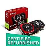 MSI Gaming GeForce GTX 1050 Ti 4GB GDRR5 128-bit HDCP Support DirectX 12 TORX 2.0 Fan Graphics Card (GTX 1050 TI Gaming X 4G) (Certified Refurbished) (Tamaño: 4GB)