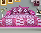 RajasthaniKart Traditional 6 Piece Diwan-e-khas - 100%Cotton