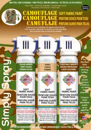 Camouflage Fabric Spray Kit